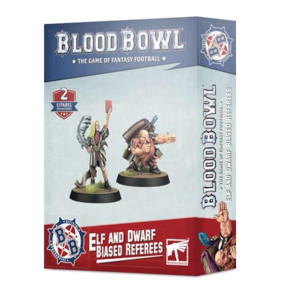Blood Bowl: Elf and Dwarf Biased Referees