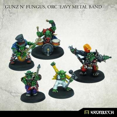 Gunz N' Fungus, Orc 'Eavy Metal Band (5)