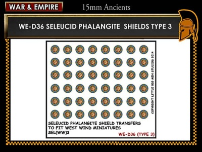 Seleucid Phalangite shield TYPE 3