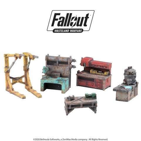 Fallout: Wasteland Warfare: Terrain Settlement Work Benches