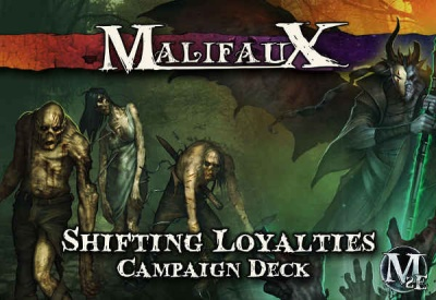 Shifting Loyalties Campaign Deck: Malifaux 2nd Edition
