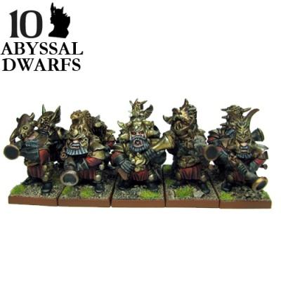 Abyssal Dwarf  Decimators (10)