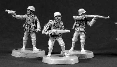 Zombie German Soldiers