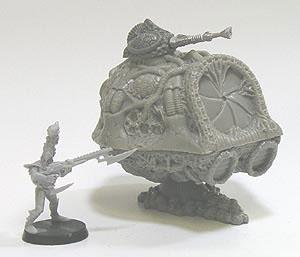 Alien Schwebepanzer Transporter