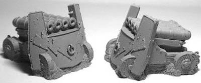 Dwarf Organ Guns (3)