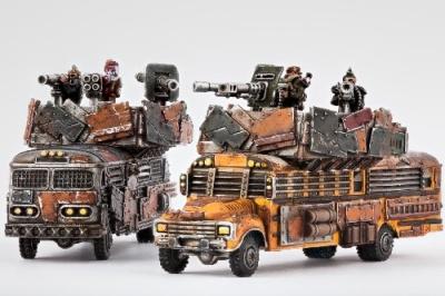 Resistance: Battlebuses (2)