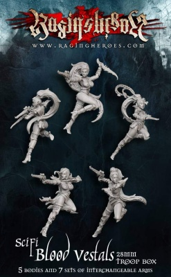 SciFi Blood Vestals Troops (5)
