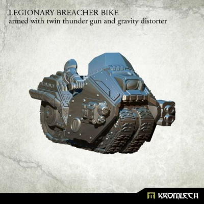 Legionary Breacher Bike: Twin Thunder & Gravity Distorter