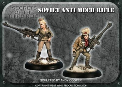 Soviet Anti-Mech Rifles - SHS Mixed Heads (4)