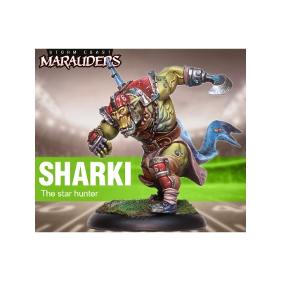 Sharki the Star Hunter (32mm)