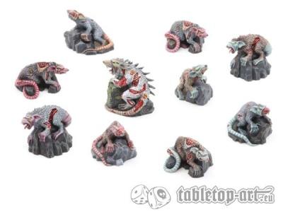 Zombieratten Rudel (10)