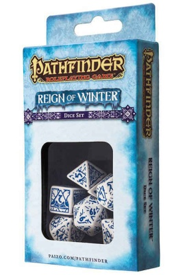 Pathfinder: Reign of Winter Dice Set (7)