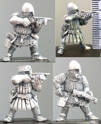 Dwarf Multi-Pack Crossbows (4)