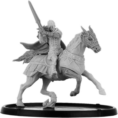 Urien, Teyrn of Môn on Horse
