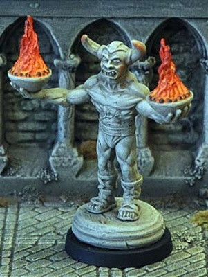 Demon Statue II