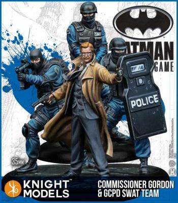 Commissioner Gordon & GCPB SWAT Team