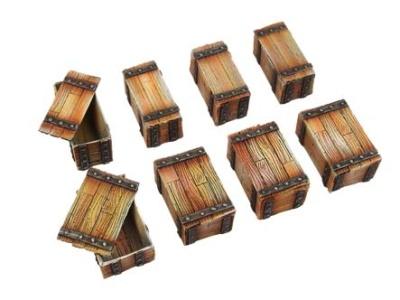 Wooden Crates (10)