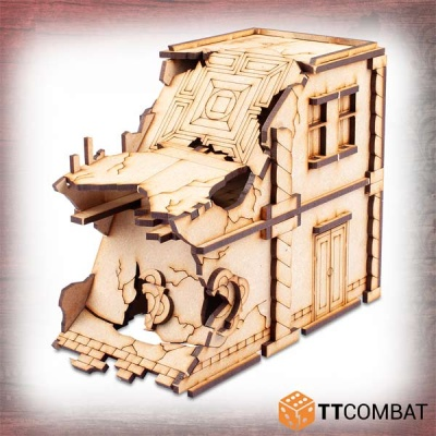 Ruined Modular Casa Doppia Tomasina