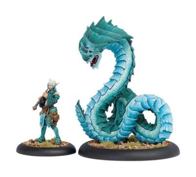 Minion Lesser Warlock Dahlia Hallyr & Skarath Warbeast