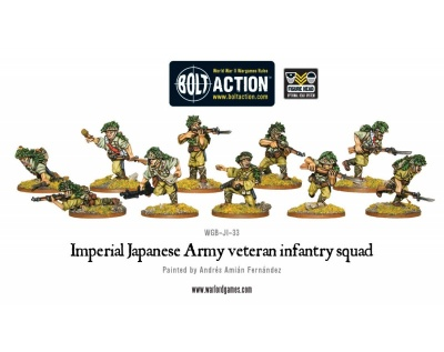 Imperial Japanese Army veteran infantry squad (10)