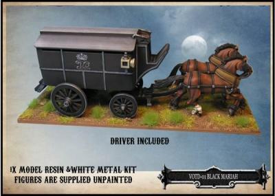 Black Mariah Police Wagon (1)