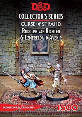 "D&D: ""Curse of Strahd"" - Ezmerelda D'Avenir & Rudolph Van R"