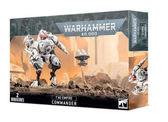 Tau Empire Commander / XV86 Coldstar Battlesuit