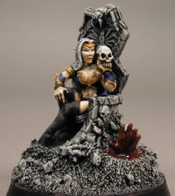 Dark Elf Queen/Throne (SPECIAL ORDER)