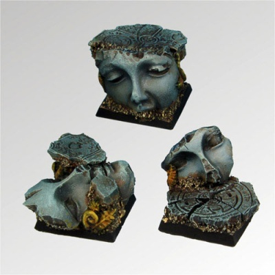 Ancient Ruins 25 mm square bases