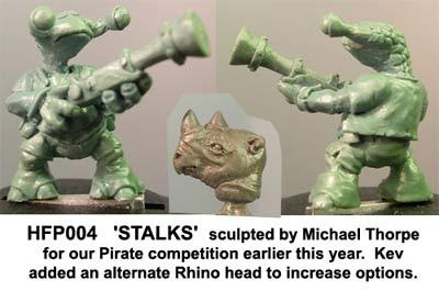 Stalks, alien shipmate