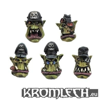 Orc Officer Heads (10)