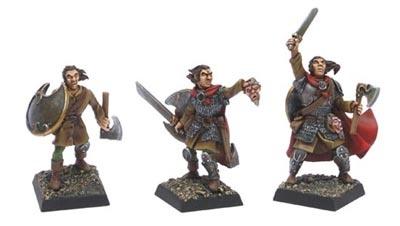 Der Krieger (Dreistufen Charakter)