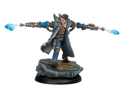 Cygnar Epic Warcaster Captain Allister Caine