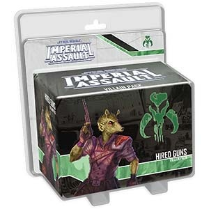 Imperial Assault - Hired Guns Villain Pack