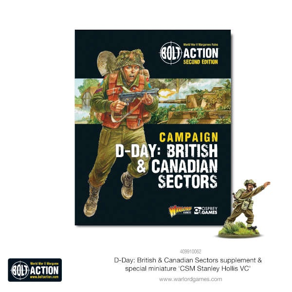 D-Day: British & Canadian Sectors - Bolt Action Theatre Book