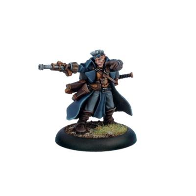 Cygnar Gunmage Captain Adept
