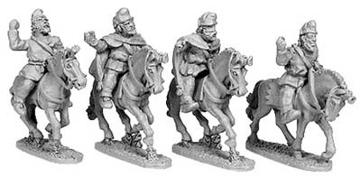 Kappadokian Light Cavalry (random mix of 4)