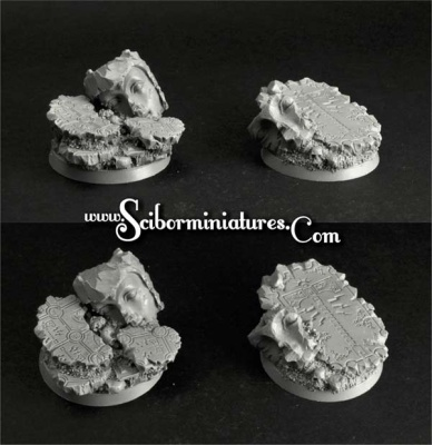 Thor Temple 40mm round bases set2 (2)