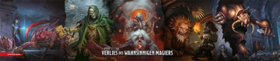 D&D Spielleiter-Schirm - Das Verließ des wahnsinnigen Magie