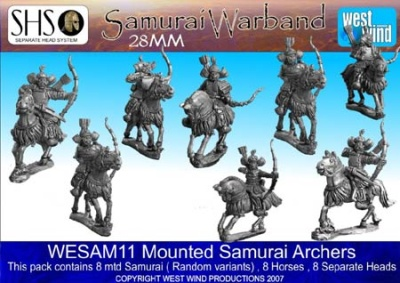 Mtd Samurai Archers (8 Figures)