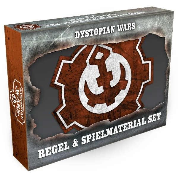 Dystopian Wars Regeln & Spielmaterialien Set - GERMAN