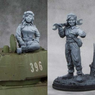 Soviet Army Guards Senior Sergeant - Mariya Oktyabrskaya