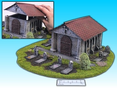 Geländestück Friedhofskapelle