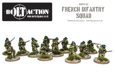 French Infantry Squad (12) (OOP)