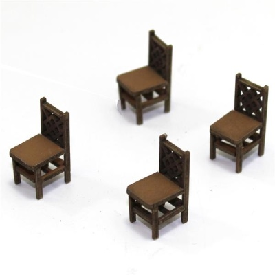 Square Back (A) Chair (Hell)