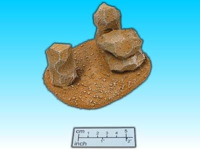 Geländestück Wüstenfelsen