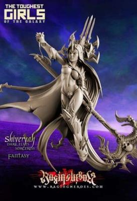 Shiveryah, Sorceress (FANTASY)