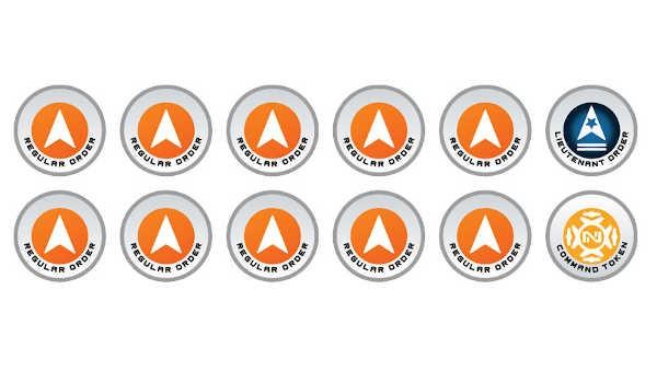 N4 Infinity Tokens Regular Orders Orange (12)
