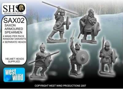 Saxon Armoured Spearmen (SHS)