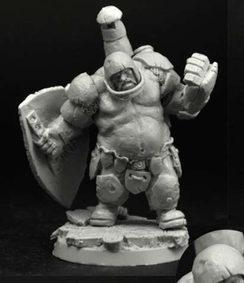 28mm/30mm Ogre Football Player #1